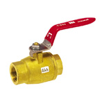 Brass Ball Valve; HBS Series Lever Handle Type Oil-Free Treated