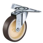 Flat Mounted Plate Type Caster 220E/215E Wheel Diameter 80-150mm