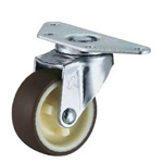 Flat Mounted Plate Type Caster 220E/215E Wheel Diameter 40-75mm