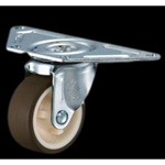 Flat Mounted Plate Type Caster 220G/215G Wheel Diameter 50-75mm