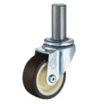 Insertion Boss Type Caster 420SK/413SK/420SKR Wheel Diameter 50-75mm