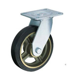 Flat Mounted Plate Type Caster 500HPS/519HPS/500HPR Wheel Diameter 200 mm