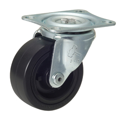 Flat Mounted Plate Type Caster 420G/415G Wheel Diameter 25-75mm