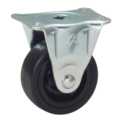 Flat Mounted Plate Type Caster 420R/420GRP Wheel Diameter 25-75mm