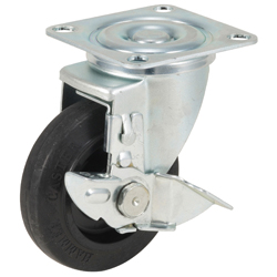 Flat Mounted Plate Type Caster 420YS/413YS Wheel Diameter 100-150mm