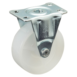 Flat Plate Type Caster 420SR, 420SRP, 50-75 mm Wheel Diameter