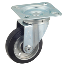 Flat Mounted Plate Type Caster 400S/419S Wheel Diameter 100-150mm