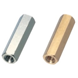 Brass Spacer (Hexagonal) / ASB-E