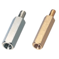 Brass Spacer (Hexagonal) Inch Screws / BSB-4-E/BSB-6-E
