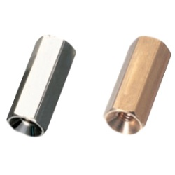 Brass Spacer (Hexagonal, Thin Plate Countersunk Screw Mounting) / KSB-ANE