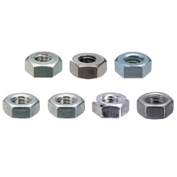 Stainless Steel Hexagonal Nut (2 Type) / UNT-00-2