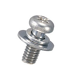 Stainless Steel Pan-Head Set Screw (With SW / PW [Small]) / U-0000-S2