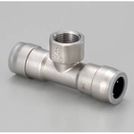 for Stainless Steel Piping, One Touch Fitting, SUSDAKE (water Faucet Tee)