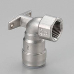 for Stainless Steel Piping, One Touch Fitting SUSDAKE (Water Faucet Elbow Horizontal Mounting Type with Washer)