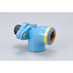 Pipe End Anti-Corrosion Pipe Fitting  ZC-Type Faucet Elbow with Platform