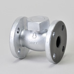 Malleable Valve, 10K Type, Check Valve (Lift Type) Flanged, Reinforced PTFE Disk Equipped