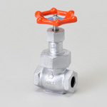 Malleable Valve, 10K Type, Globe Valve, Screw Shape, Reinforced PTFE Disk Installation