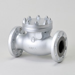 Malleable Valve, 20K Type, Check Valve (Swing Type), Flanged, PTFE Disk Equipped