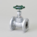 Malleable Valve, 20K Type, Globe Valve, Flange Type, PTFE Disk Equipped