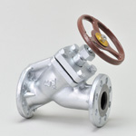 Malleable Valve, 20K Type, Y-Shaped Valve, Flanged