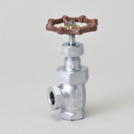 Malleable Valve, 20K Type, Angle Valve, Screw-In