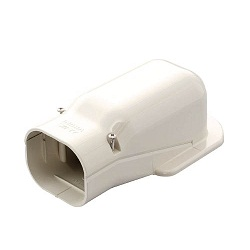 "Materials for Air Conditioners, ""SLIMDUCT SD Series"", Wall Inlet Elbow"