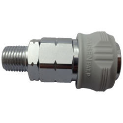 High-Pressure One Touch Male Threaded Socket