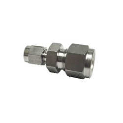 Double Ferrule Type Tube Fitting Unequal-Diameter Union DUR