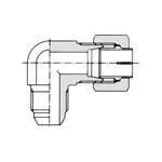 Vibration-Resistant Fitting, NE Type, for Steel Pipes, Biting Fitting, Hose Connection, Union, Elbow