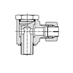 Flareless Fitting for Anti-Vibration Fitting NE Type Steel Pipe Type - Stud Elbow (B Type)
