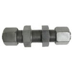 CE Type Steel Pipe Flareless Fitting, Bulkhead Tightening Union KSU