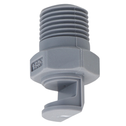 Wide Angle Flat Spray Nozzle YYP Series, Metal/Plastic