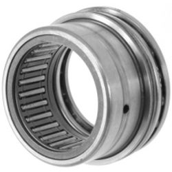 Needle roller/axial ball bearings NKX, axial component, single direction, to DIN 5429, without end cap, for oil lubrication