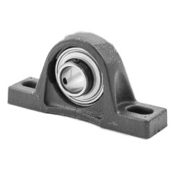 Plummer block housing units RASEY, cast iron housing, radial insert ball bearing with grub screws in inner ring, R seals