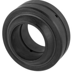 Radial spherical plain bearings GE..-DO-2TS, requiring maintenance, to DIN ISO 12 240-1, sealing with 3 lips made of polytetrafluoroethylene (PTFE) with steel reinforcement on both sides