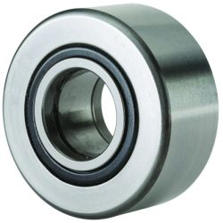Yoke type track rollers PWTR..-2RS, full complement cylindrical roller set, with axial guidance, lip seals on both sides