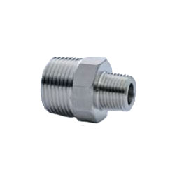 Stainless Steel Screw-in Tube Fitting Reducing Hexagonal Nipple