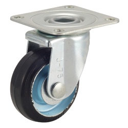 Caster for Medium Loads G-WJ Type with Rubber Wheel Type with Fixed Hardware
