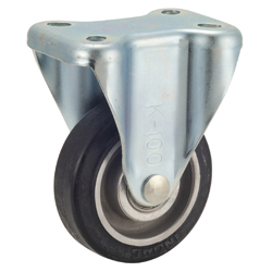 Caster for Trolleys TR-AWK Type, Aluminum Core Type with Fixed Hardware