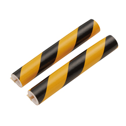 Safety Cushion, Tiger-Stripe Pattern, with Tape (Pipe)