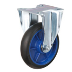Low Starting Resistance Caster LR-WK Type with Rubber Wheel Type with Fixed Hardware