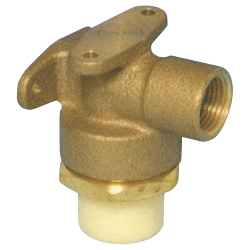 JFE Polybutene Tube, E-Type Fitting (Electrofusion Type) L-Shaped Valve Socket (Rear Plate)