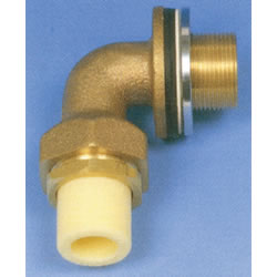JFE Polybutene Tube, H-Type Fitting (Heat Fusion Type) L-Shaped Valve Socket Elbow for UB