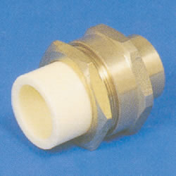 JFE Polybutene Tube, H-Type Fitting (Electrofusion Type) Valve Socket (with Female Screws)