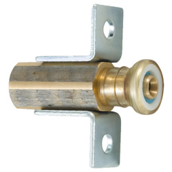 J One Quick-2 Socket with Female Threads and Flange Plate (Floor Rise)