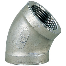 Stainless Steel Screw-In Tube Fitting 45° Elbow