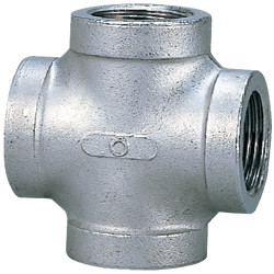 Stainless Steel Screw-In Tube Fitting, Cross