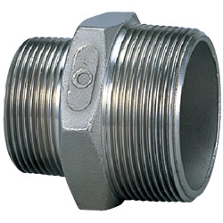 Stainless Steel Screw-In Pipe Fitting, Reducing Nipple