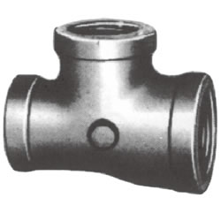 Screw-In PL Fitting - Banded Reducing Tee (One Branch Large)