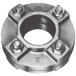 Threaded Pipe Fittings Flange for Air Conditioning and Sanitary Plumbing